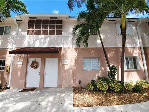 Photo of 8587 SW 109th Ave #8587, Miami, FL 33173 (MLS # A11111891)