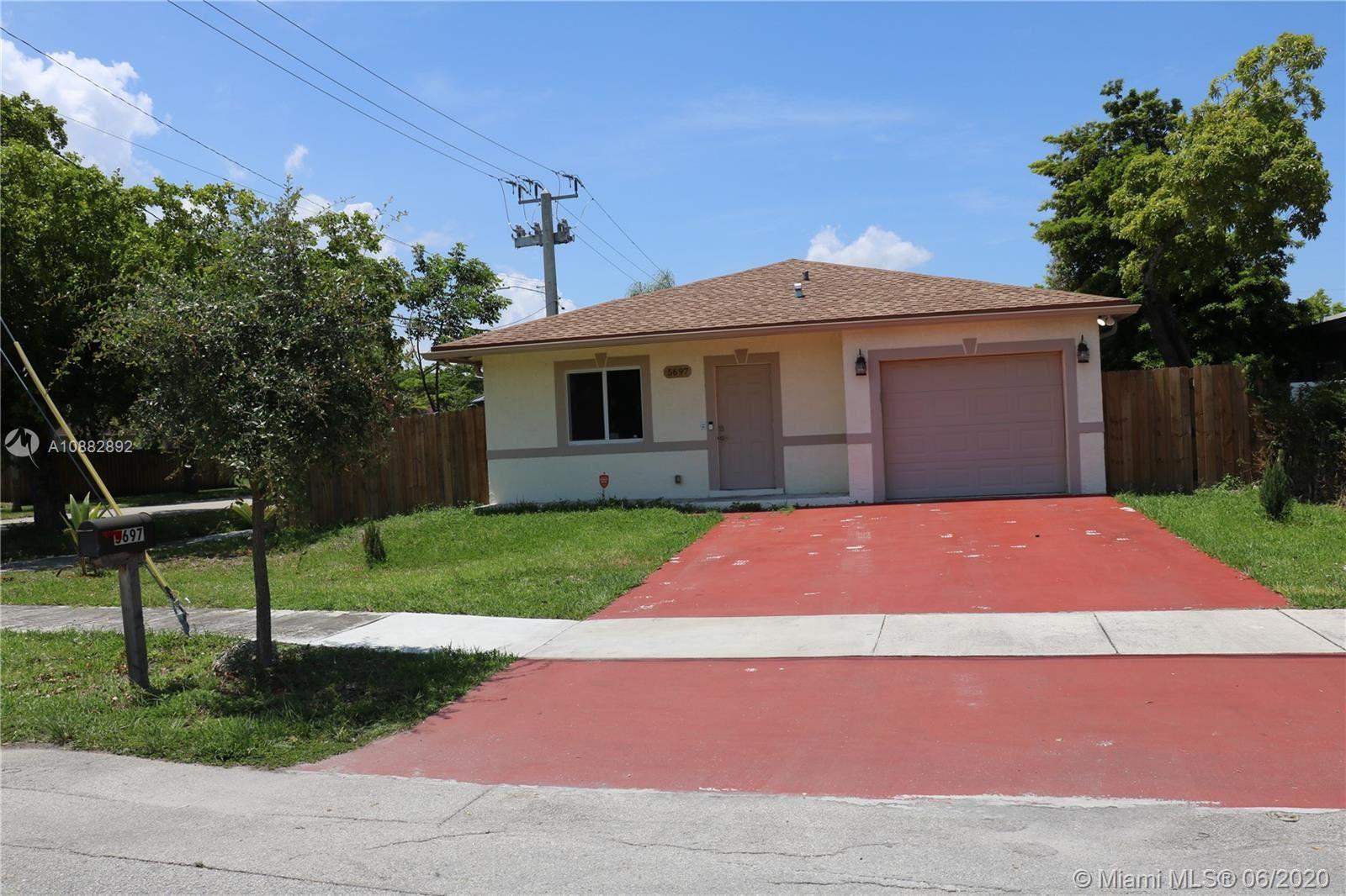 5697 Fletcher St, Hollywood, FL 33023 - #: A10882892