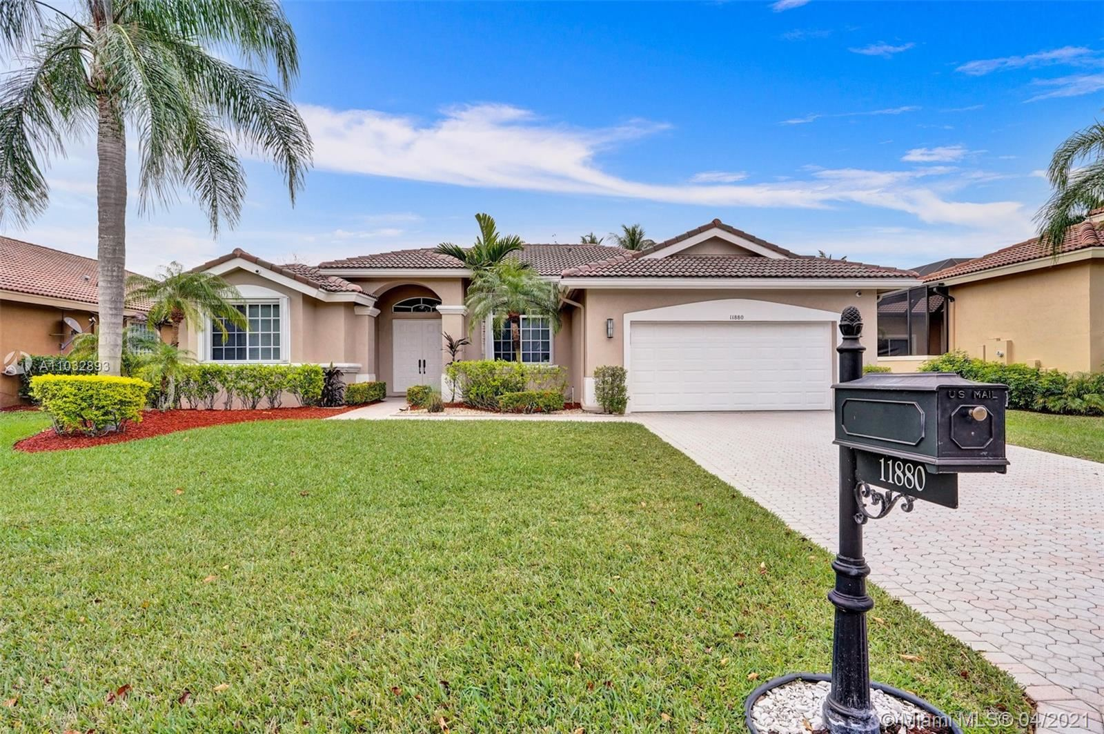 11880 NW 3rd Dr, Coral Springs, FL 33071 - #: A11032893