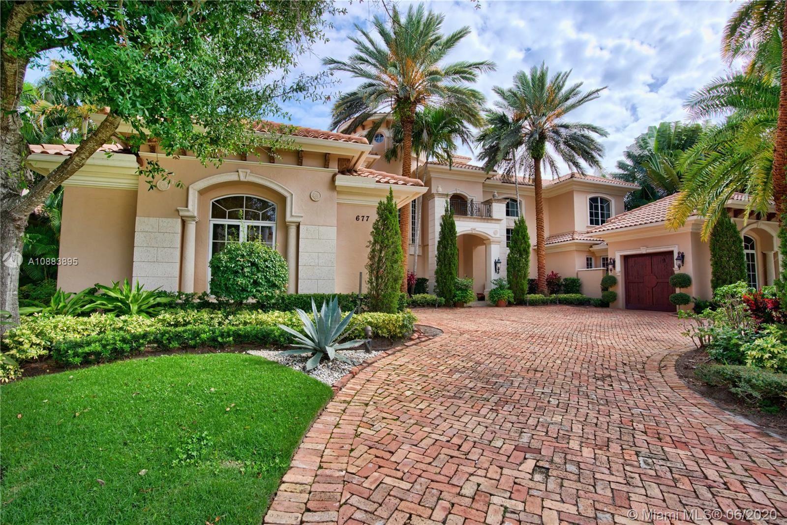 677 Hermitage Cir, Palm Beach Gardens, FL 33410 - #: A10883895