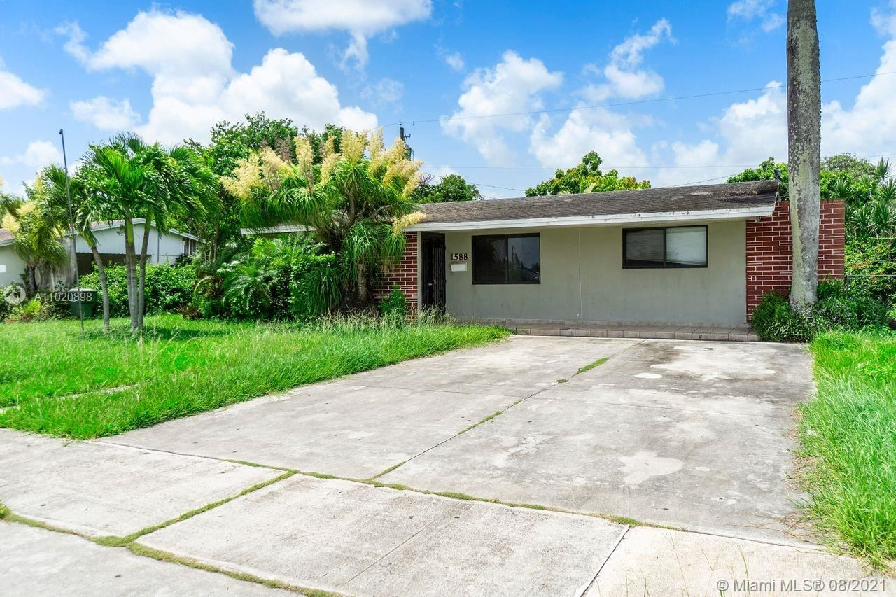 1588 NW 8th Ave, Homestead, FL 33030 - #: A11020898