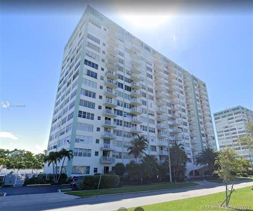 Photo of 2150 Sans Souci Blvd #A1007, North Miami, FL 33181 (MLS # A11106899)