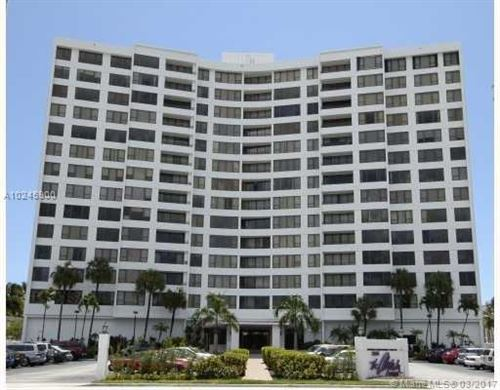 Photo of 3505 S Ocean Dr #1104, Hollywood, FL 33019 (MLS # A10245900)