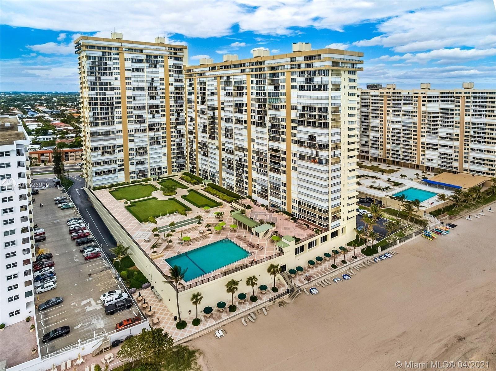 Photo of 4280 Galt Ocean Dr #17G, Fort Lauderdale, FL 33308 (MLS # A11026900)