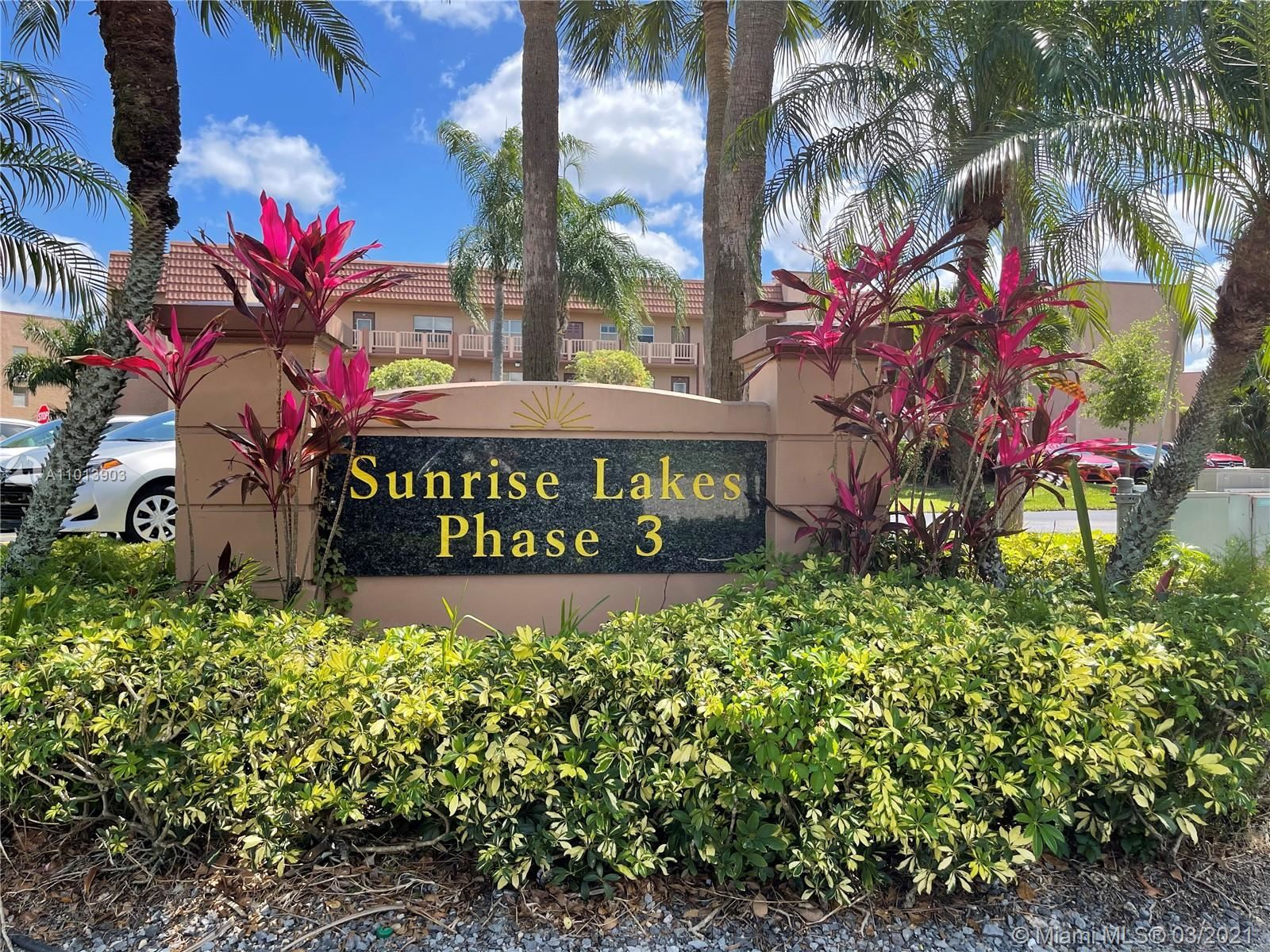 9900 Sunrise Lakes Blvd #108, Sunrise, FL 33322 - #: A11013903