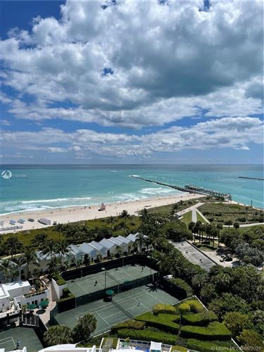 Photo of 100 S Pointe Drive #1405, Miami Beach, FL 33139 (MLS # A11101904)
