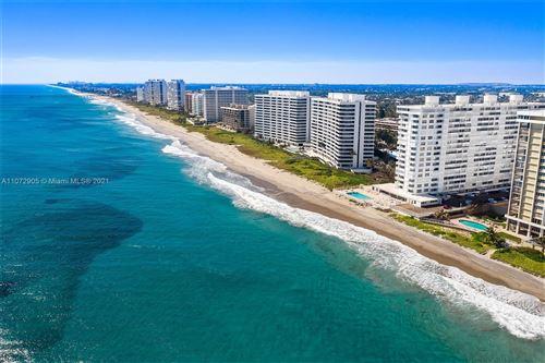 Photo of 1200 S Ocean Blvd #7H, Boca Raton, FL 33432 (MLS # A11072905)