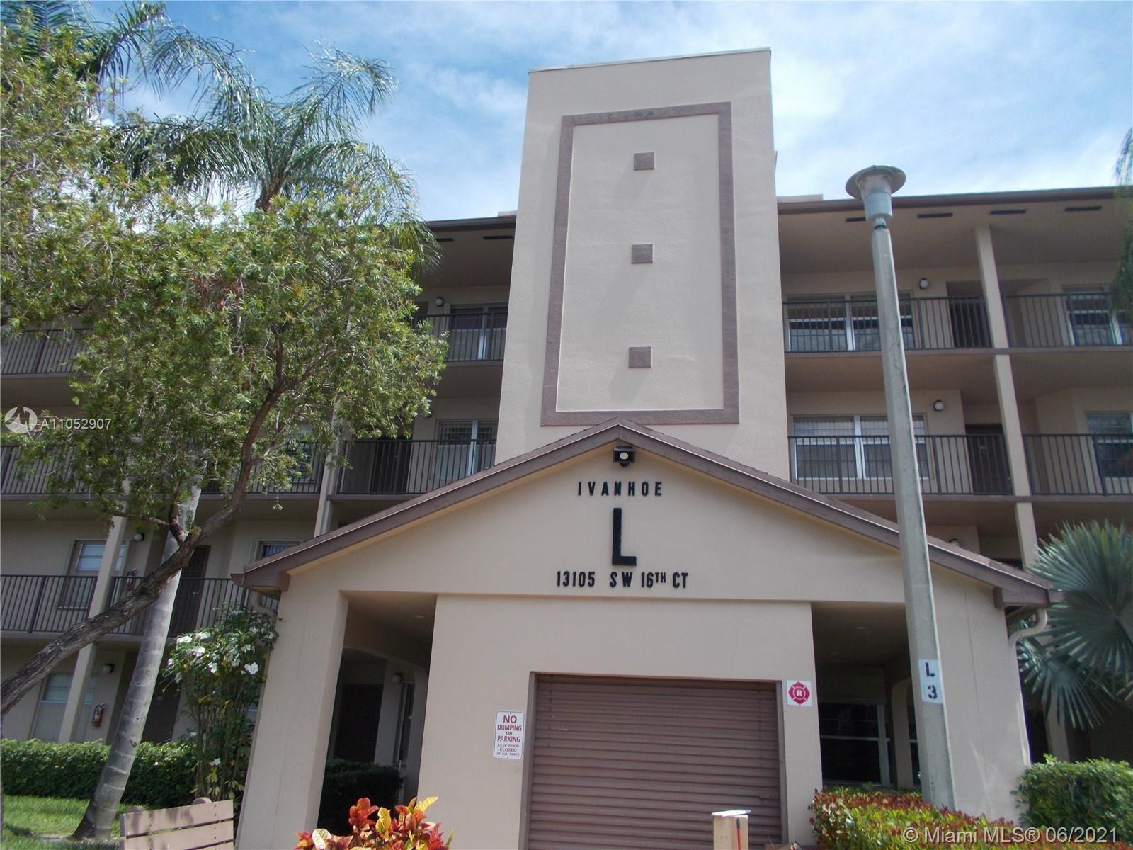 13105 SW 16th Ct #213L, Pembroke Pines, FL 33027 - #: A11052907