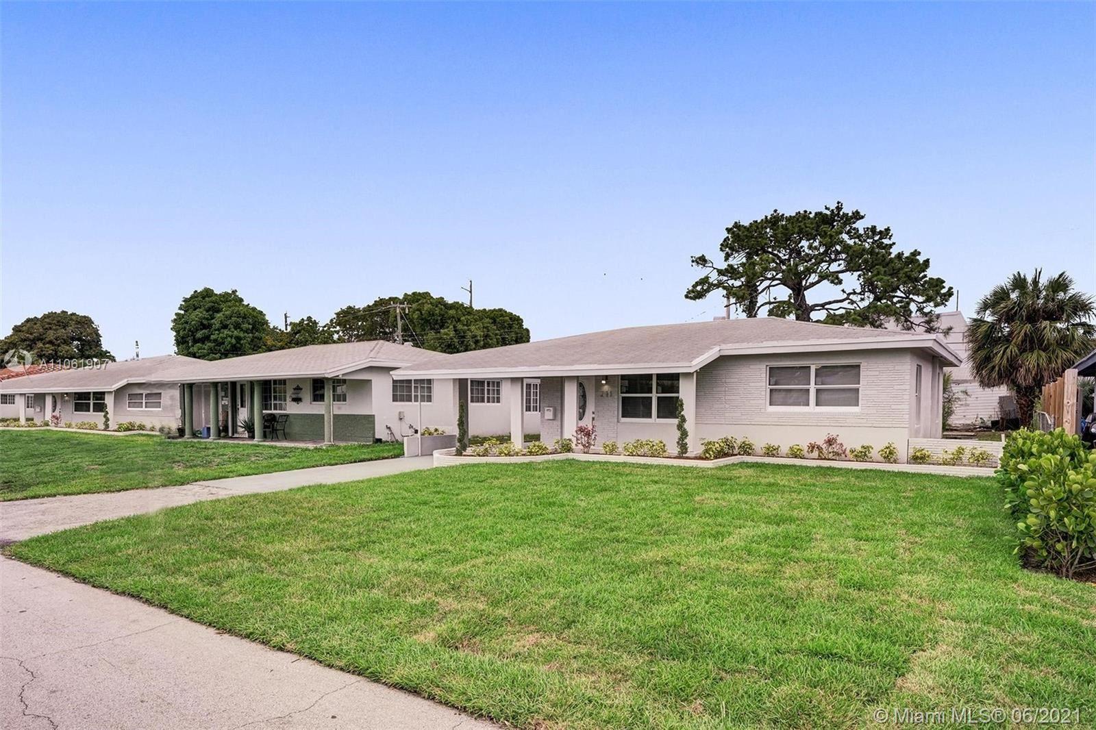271 NE 43rd Ct, Oakland Park, FL 33334 - #: A11061907