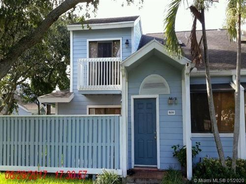 Photo of Listing MLS a10804908 in 1809 Racquet Ct #1809 North Lauderdale FL 33068