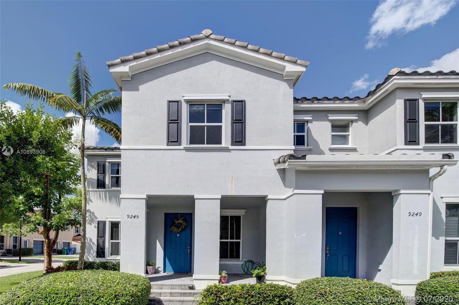 9245 SW 169th Psge #9245, Miami, FL 33196 - #: A10893908
