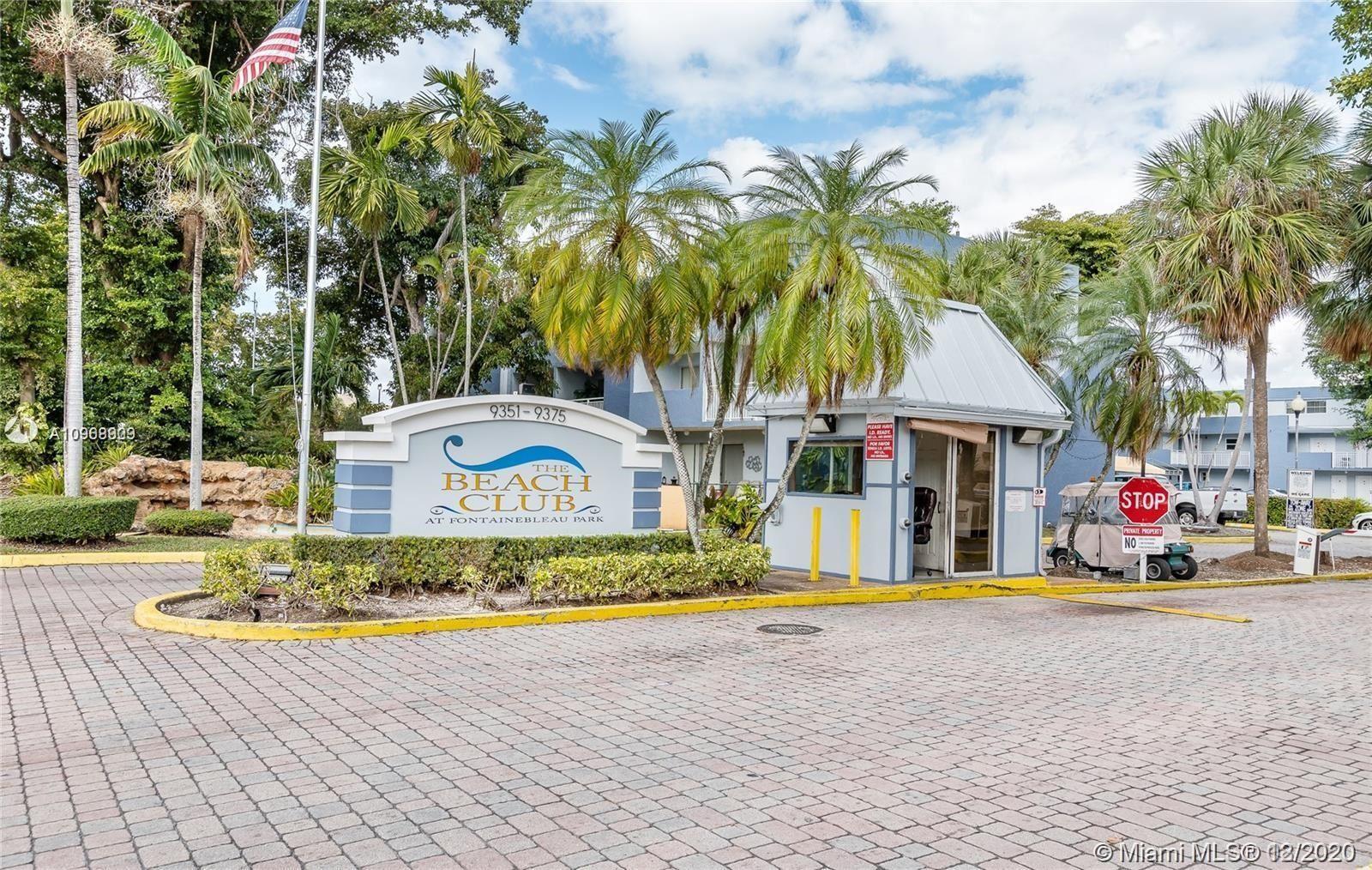 9351 Fontainebleau Blvd #B232, Miami, FL 33172 - #: A10968909