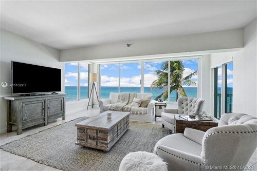 Photo of 2909 S Ocean Blvd #4A2, Highland Beach, FL 33487 (MLS # A11102911)