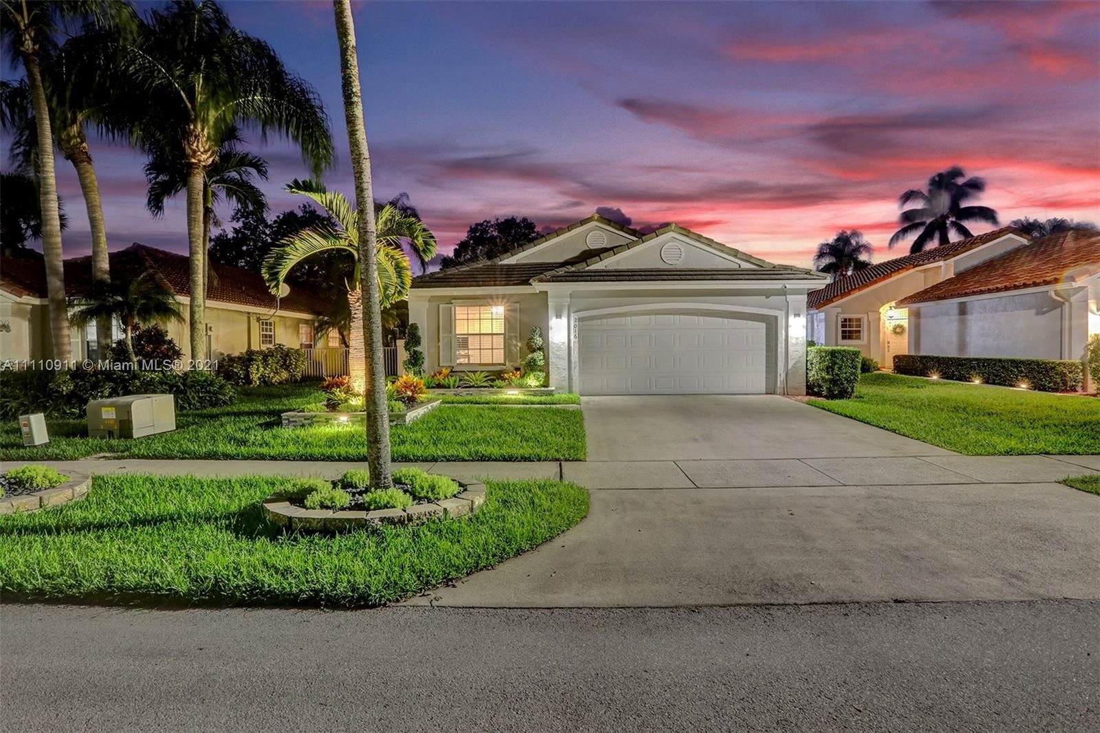 Photo of 2016 NW 182nd Ave, Pembroke Pines, FL 33029 (MLS # A11110911)