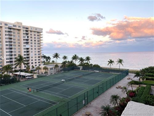 Photo of 5100 N Ocean Blvd #704, Lauderdale By The Sea, FL 33308 (MLS # A10777917)