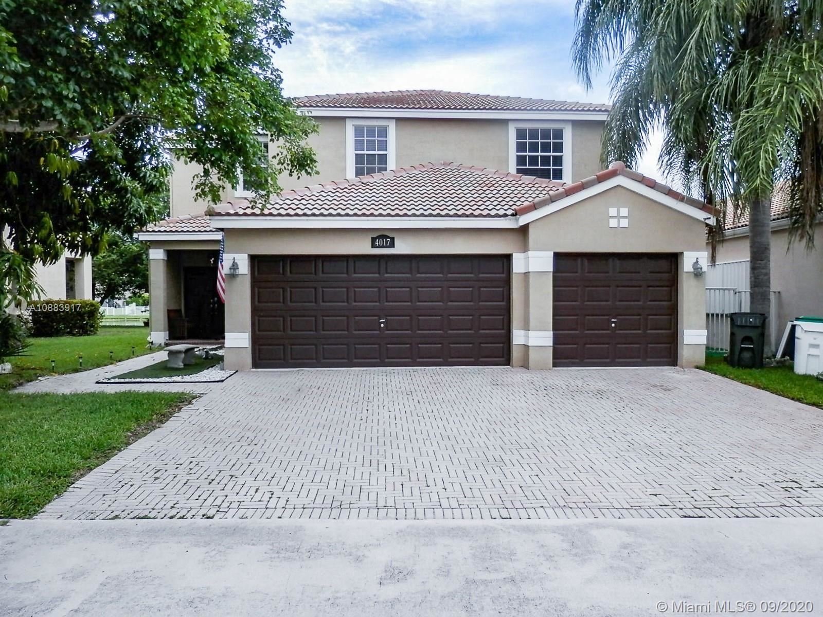 4017 NW 62nd Dr, Coconut Creek, FL 33073 - #: A10883917
