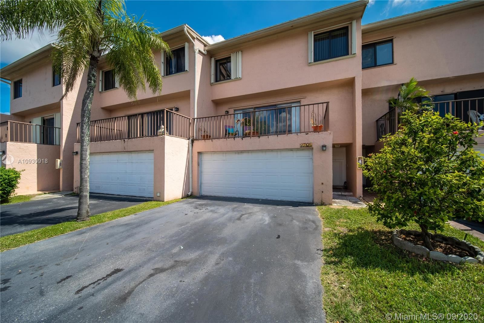 8705 SW 154th Cir Pl #3J, Miami, FL 33193 - #: A10930918