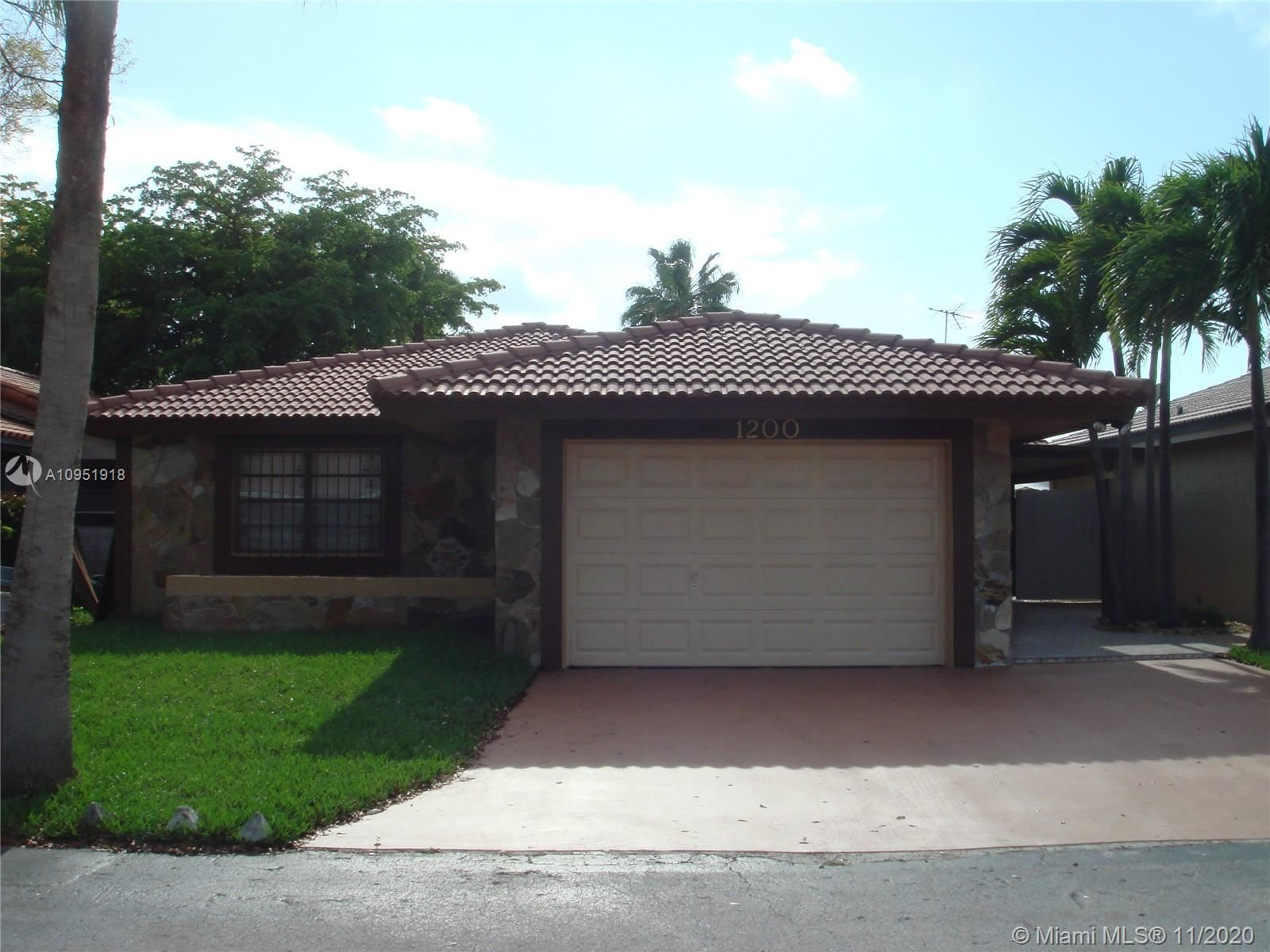 1200 SW 136th Pl, Miami, FL 33184 - #: A10951918