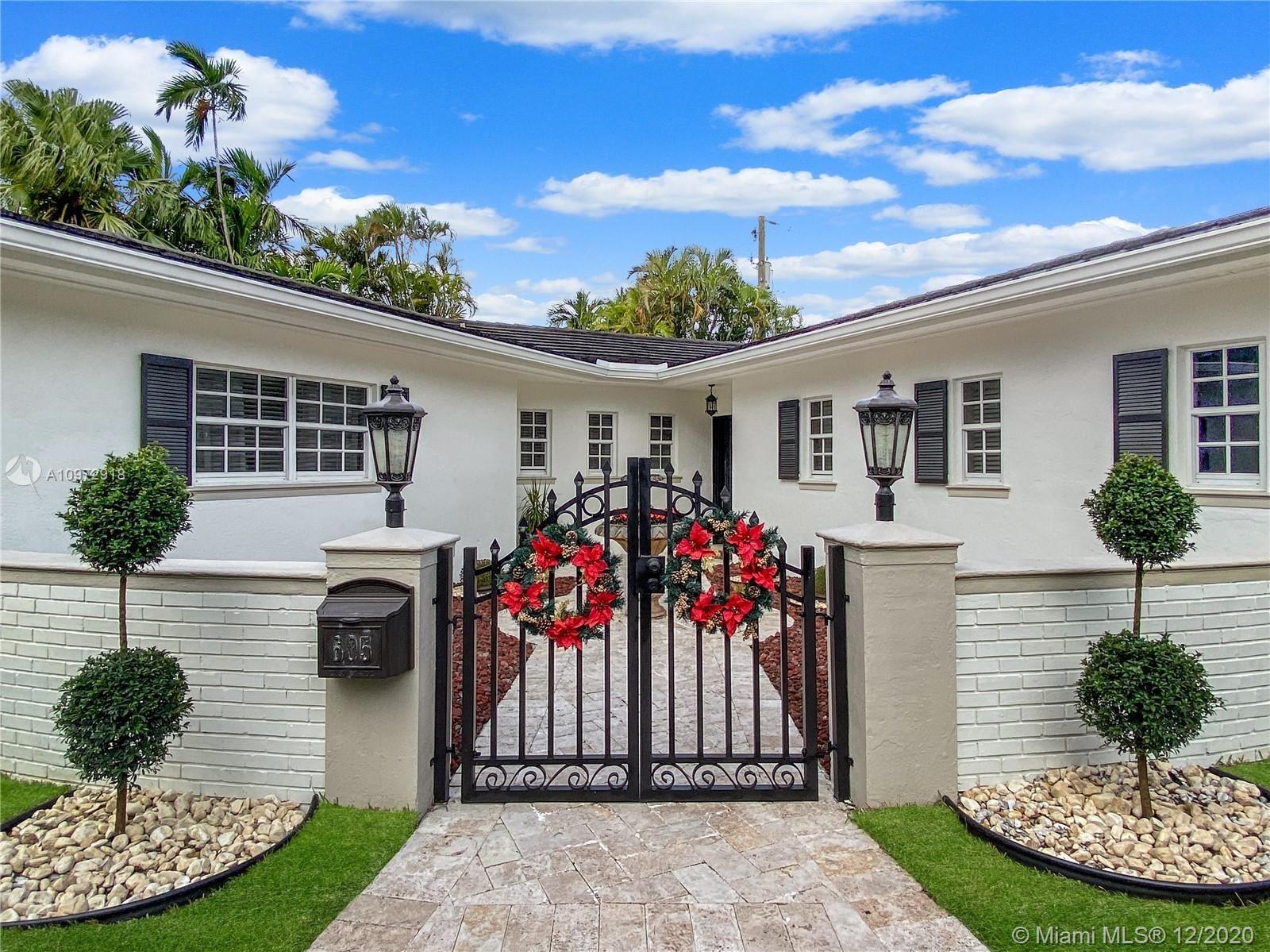 605 Blue Rd, Coral Gables, FL 33146 - #: A10972918