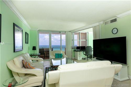Photo of 3180 S Ocean Dr #1104, Hallandale Beach, FL 33009 (MLS # A11032923)
