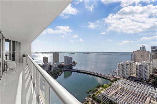 Photo of 495 Brickell Ave #3411, Miami, FL 33131 (MLS # A11112923)