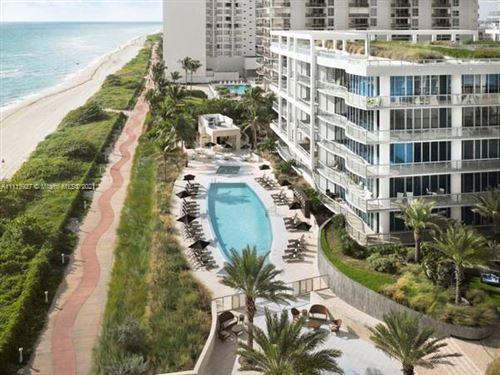 Photo of 6799 Collins Ave #1406, Miami Beach, FL 33141 (MLS # A11113927)