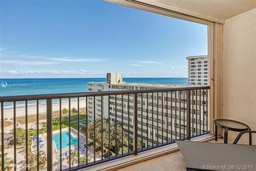 Photo of Lauderdale By The Sea, FL 33062 (MLS # A10779928)