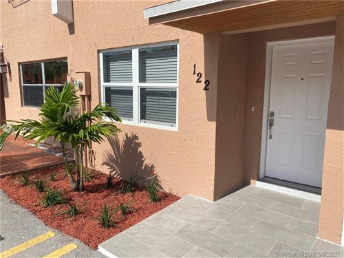 Photo of 100 SW 110th Ave #122, Sweetwater, FL 33174 (MLS # A11038930)