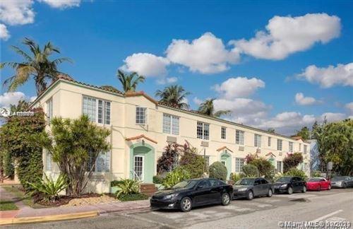 Photo of 741 15th St #8, Miami Beach, FL 33139 (MLS # A11100936)