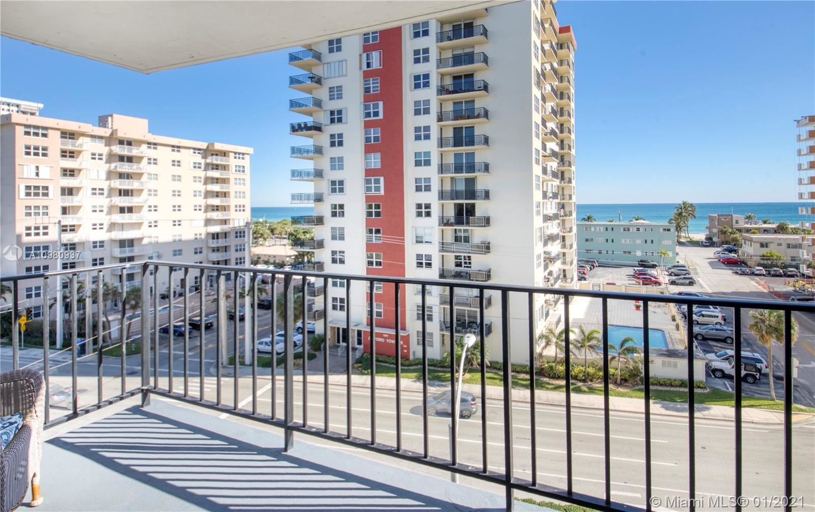 1400 S Ocean Dr #601, Hollywood, FL 33019 - #: A10980937