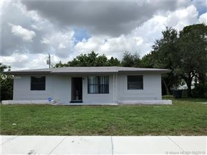 Photo of Listing MLS a10733939 in 3020 SW 35th Ave West Park FL 33023