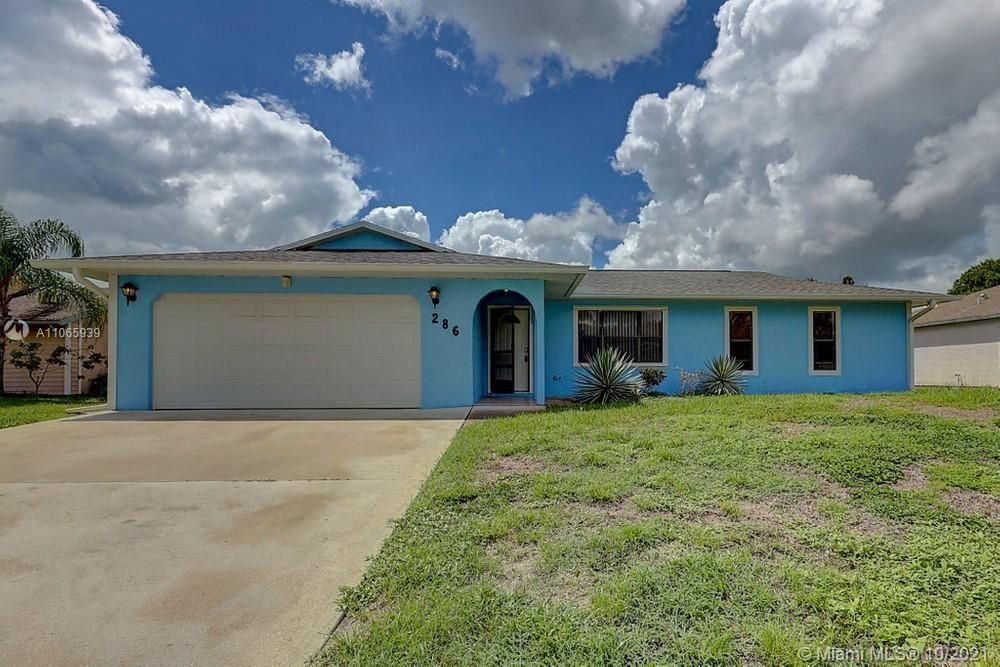 286 SE Volkerts Terrace, Port Saint Lucie, FL 34983 - #: A11065939