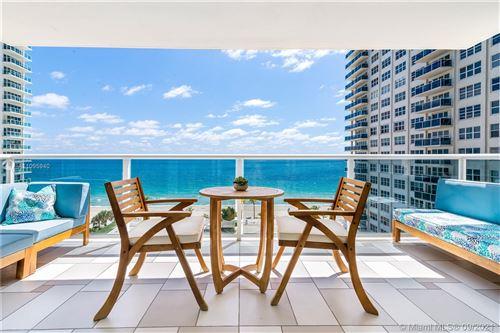 Photo of 3500 Galt Ocean Dr #711, Fort Lauderdale, FL 33308 (MLS # A11095940)
