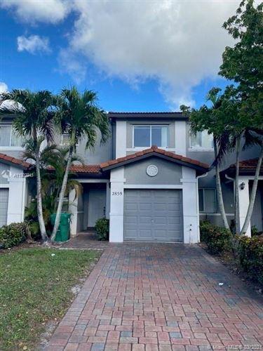 Photo of 2859 SW 127 Avenue #2859, Miramar, FL 33027 (MLS # A11007941)