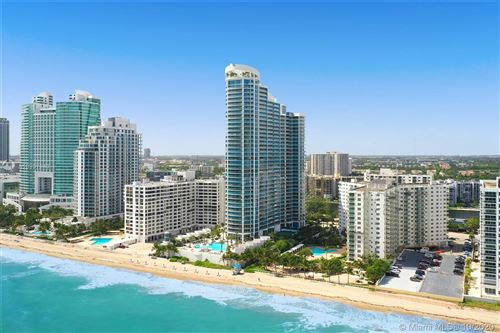 Photo of 3101 S Ocean Dr #1001, Hollywood, FL 33019 (MLS # A10937943)