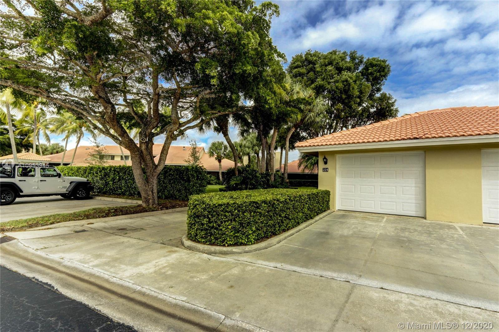 224 Old Meadow Way #1, Palm Beach Gardens, FL 33418 - #: A10953945