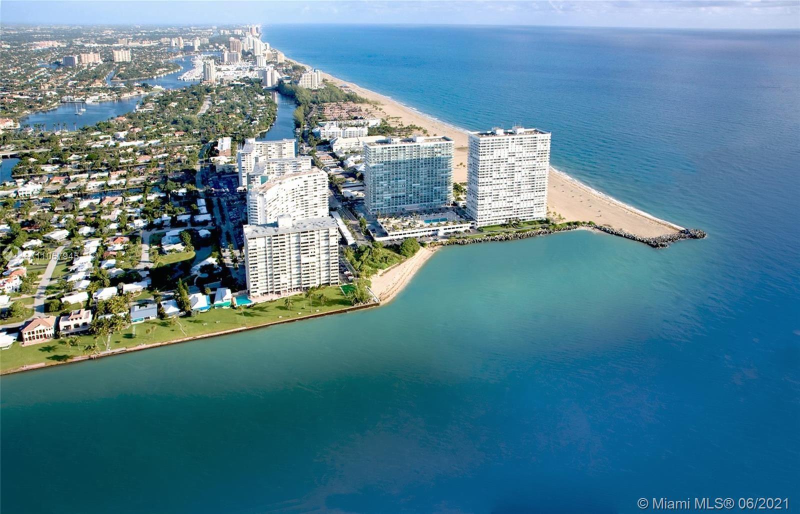 Photo of 2100 S Ocean Dr #9J, Fort Lauderdale, FL 33316 (MLS # A11057945)