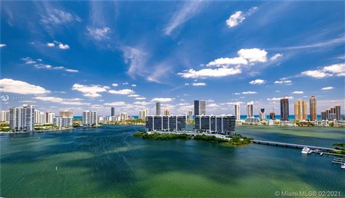 Photo of 5500 Island Estates Dr #504N, Aventura, FL 33160 (MLS # A11000946)