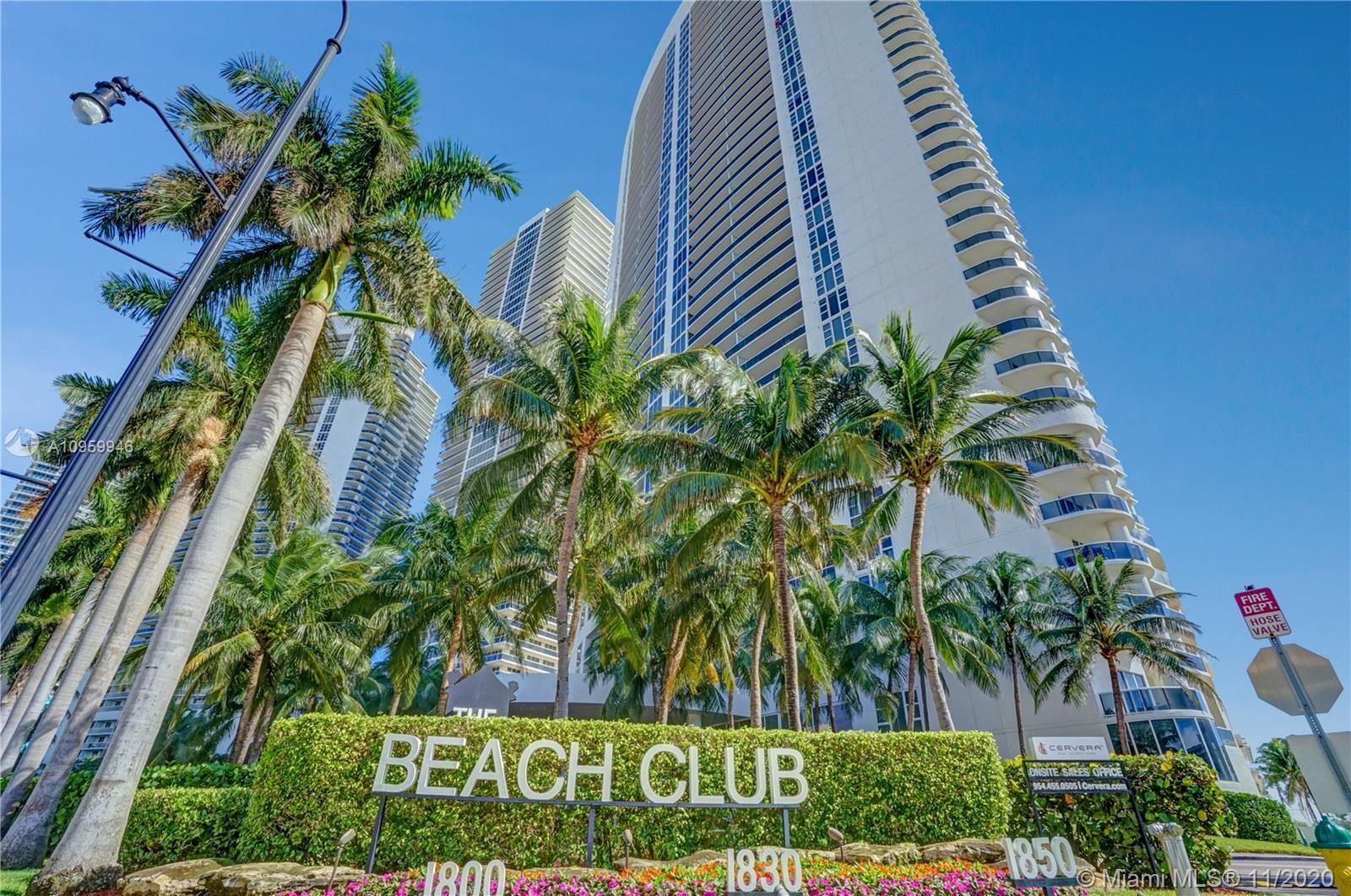 1800 S Ocean Dr #709, Hallandale Beach, FL 33009 - #: A10959946
