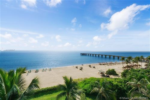 Photo of 16711 Collins Ave #607, Sunny Isles Beach, FL 33160 (MLS # A11099947)