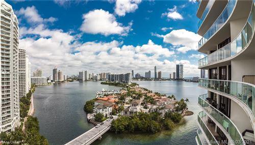 Photo of 4000 Island Blvd #1605, Aventura, FL 33160 (MLS # A10206949)