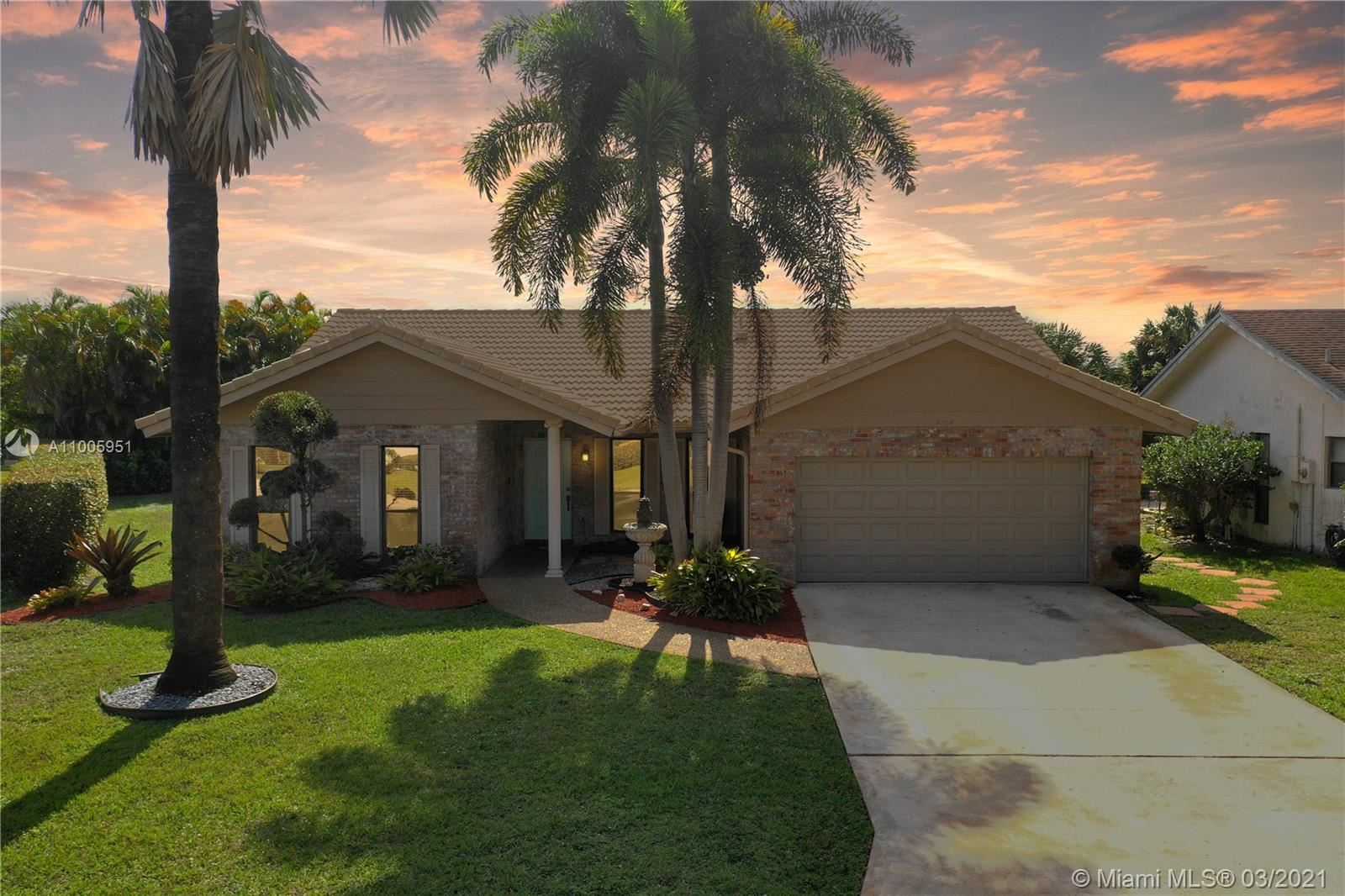 7014 NW 43rd St, Coral Springs, FL 33065 - MLS#: A11005951
