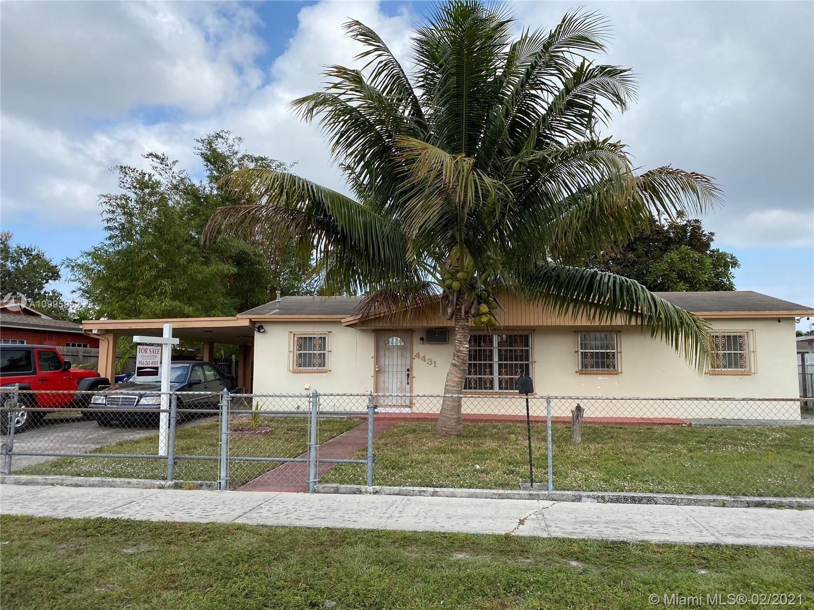4431 NW 201st Ter, Miami Gardens, FL 33055 - #: A10995952