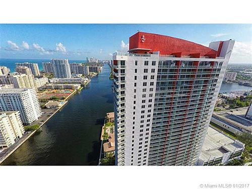 Photo of 2600 HALLANDALE BEACH BL #2202, Hallandale, FL 33009 (MLS # A10205953)