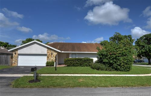 Photo of Listing MLS a10902955 in 4910 NW 84th Ave Lauderhill FL 33351