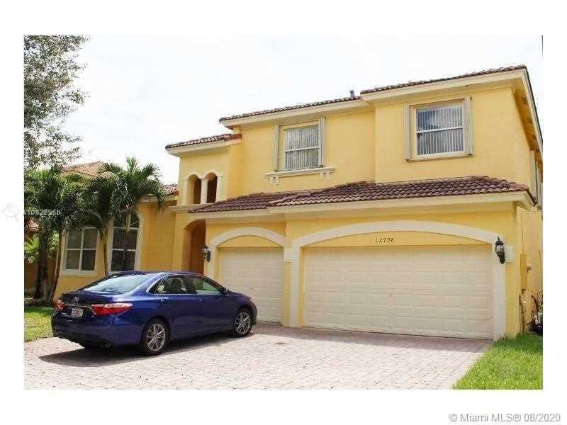 12708 SW 21st St, Miramar, FL 33027 - #: A10822955