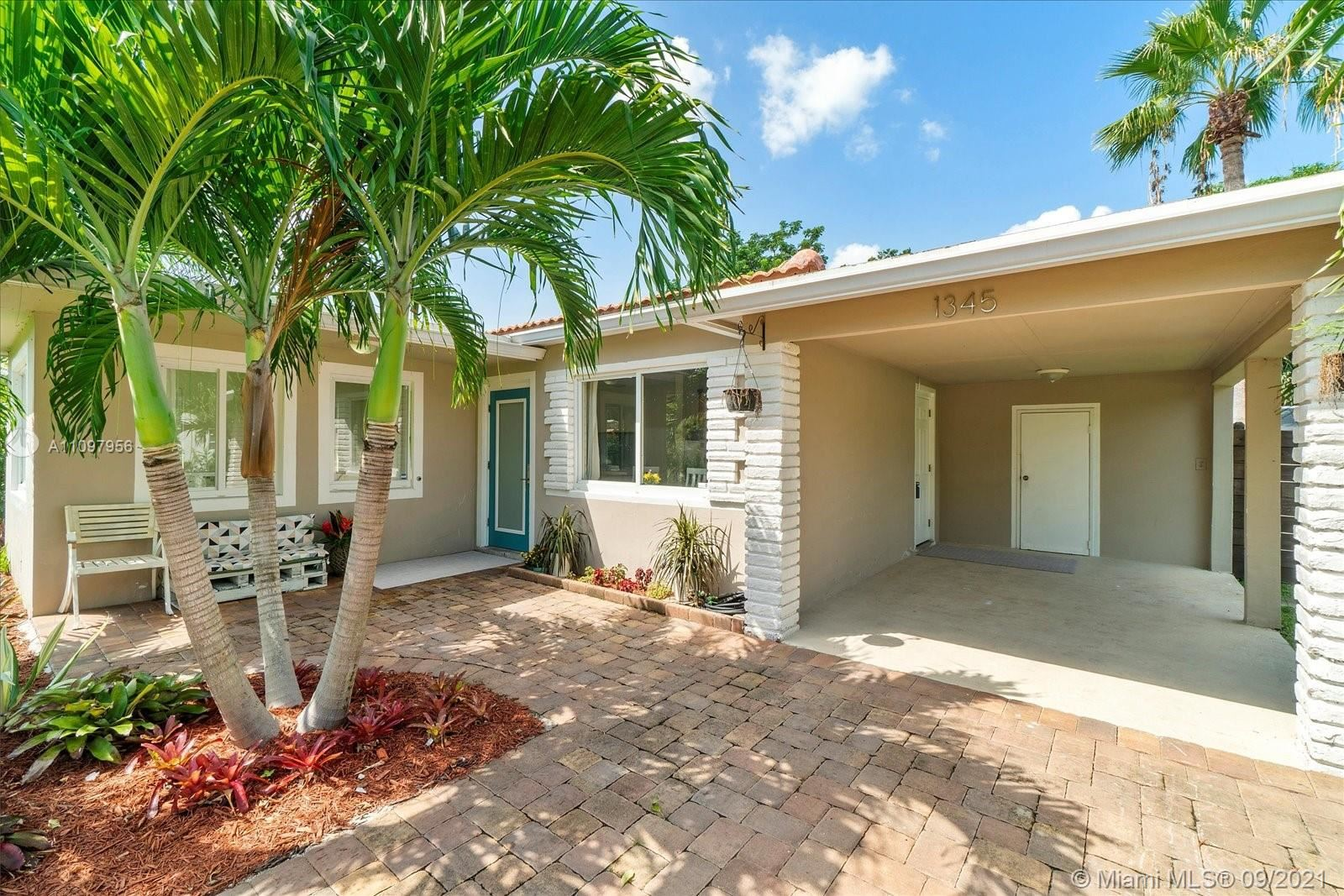 Photo of 1345 NE 14th Ave, Fort Lauderdale, FL 33304 (MLS # A11097956)