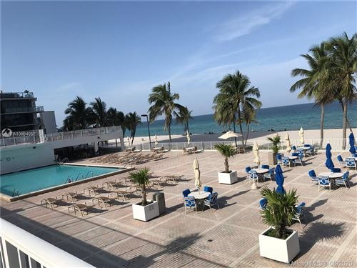 Foto de inmueble con direccion 2101 S Ocean Dr #302 Hollywood FL 33019 con MLS A10884957