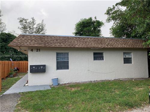 Photo of 4621 SW 33rd Ave #1-6, Dania Beach, FL 33312 (MLS # A11100957)