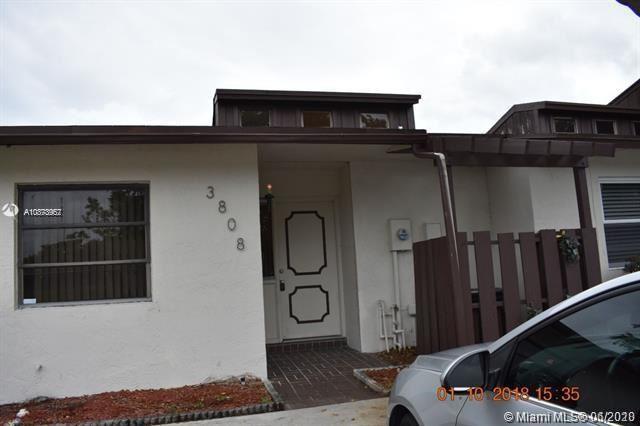 3808 SW 70th Ave #1-X, Miramar, FL 33023 - #: A10873957